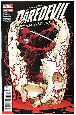Daredevil #21 First Printing! 1st Appearance Superior Spider-Man! Waid NM 2013
