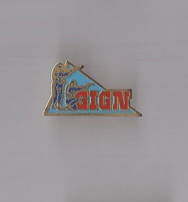 Pin's Police / Gign Groupe Intervention Gendarmerie Nationale