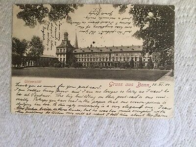 Old Postcard - Gruss aus Bonn, 1901 The University