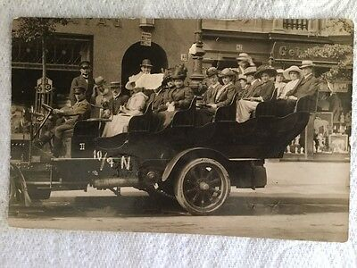 Old Postcard - RP Charabanc, Germany, Berlin - Potsdam