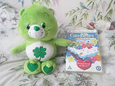 Good Luck Care Bear Plush And Dvd Special Edition