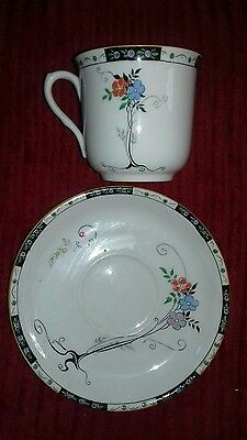 Shelley flowers cup and saucer