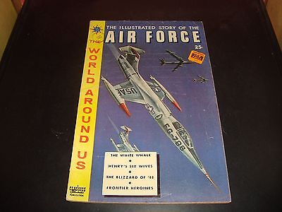 Classic Illustrated Story AIRFORCE #13 Vintage Comic Book 1959 VG Condition