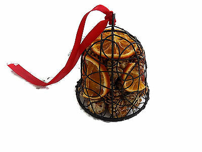 Scented Fruit Large Bell Shaped Black Cage