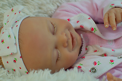 Reborn Baby Girl from Lucrecia kit by Natalie Blick