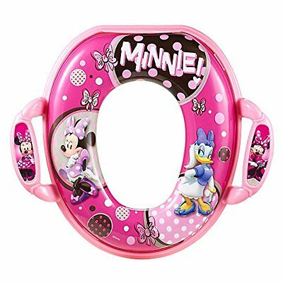 DisneyBaby Minnie Soft Potty Seat Girl Pink Toilet Trainer Training Portable NEW