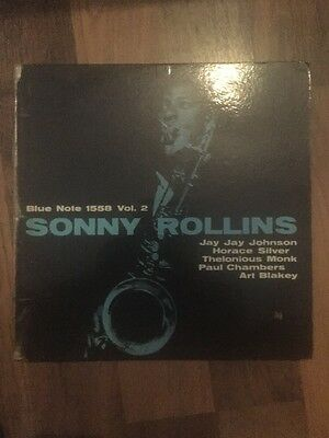 "Sonny Rollins COLLECTION VOL.2 12"" LP Stereo Blue Note Records BLP-1558 *Rare*"