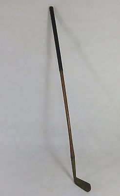 Rare Antique/Vintage Caledonian Hickory Shafted Putter (304L)