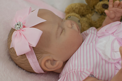 Reborn baby Girl Doll Lifelike Realistic ,Weighted~full limbs~GHSP~baby smell
