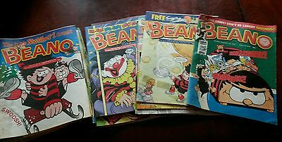 Bundle / Job Lot of 31 x BEANO COMIC's 1998- 2002 Vintage Collectable