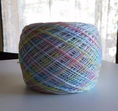 Hand Dyed Crochet Thread Aunt Lydia's Size 10 (Soft Pastel  )  300 Yds.