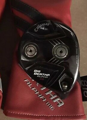 Callaway Big Bertha 816 Fairway Wood 18deg Diamana Whiteboard Stiff 80 Shaft