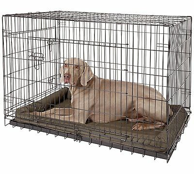 XLarge Dog Crate Cage - 2 Door with Tray. 106cm x 70cm x 77cm Tall. Hardly used.