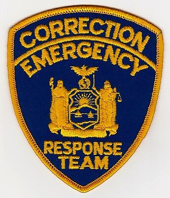 New York State Correction Emergency Response Team Police Patch + Free Shipping