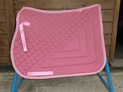 General Purpose Saddle Pad from Cozee Rugs. Great quality, quilt & contrast bind