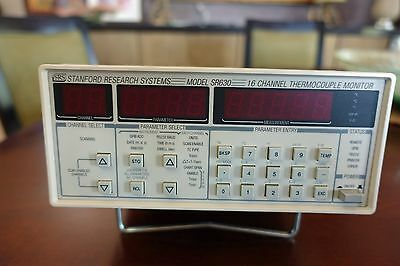 Stanford Research SR630 16 Channel Thermocouple Monitor