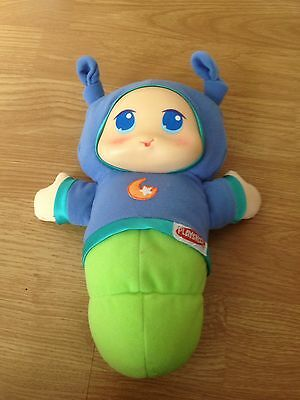 Blue Glow Worm Playskool