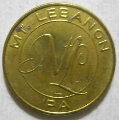 Mount Lebanon ( Pennsylvania) parking token - PA3660A