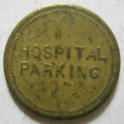 Burlington County Hospital ( Mount Holly, New Jersey) parking token - NJ3545A