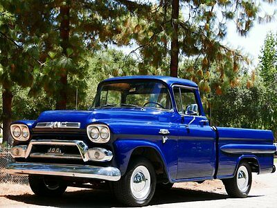 1959 GMC 100 Deluxe, Short Bed, Big Back Window, Fleetside 1959 Chevrolet Other Pickups Deluxe