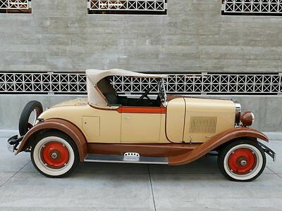 1928 Oldsmobile F-28 Roadster Rumble Seat F-28 1928 Oldsmobile Deluxe F-28 Big Six Roadster