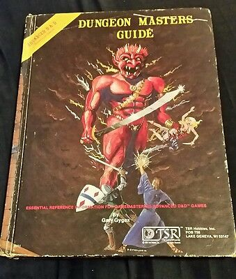 Dungeon Masters guide 1979 TSR