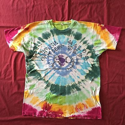 VTG Grateful Dead Jerry Garcia XL-L T Chinese New Year Mardi Gras 89 HJK Oakland