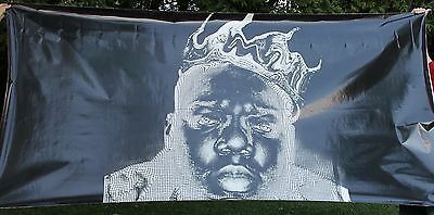 HUGE Vintage The Notorious B.I.G. Biggie Smalls Advertising Sticker Decal 10 FT