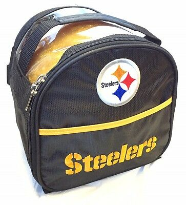NFL Pittsburgh Steelers 1 Ball Add On Plus One Bowling Bag