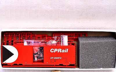 HO NOS InterMountain  CP Rail Canadian Pacific 40' Boxcar Kit Red with Multimark