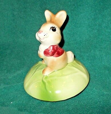Vintage Metlox Rabbit or Bunny on Cabbage Cookie Jar - LID ONLY -