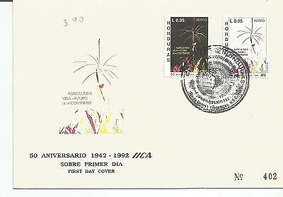 Honduras. Stamp Lot. Sc. C853-C854(2). FDC. Intl. Conference. Agriculture.