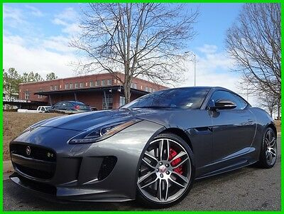 2016 Jaguar F-Type JAGUAR F-TYPE R AWD CLEAN CARFAX WE FINANCE 5.0 SUPERCHARGED V8 PANO ROOF DUAL ZONE CLIMATE NAVIGATION BACKUP CAM BLUETOOTH