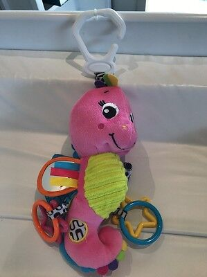 Playgro Activity Toy Pink Seahorse