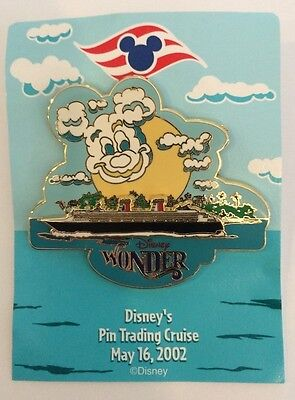 Disney DCL Mickey Mouse Cloud Wonder Pin Trading Cruise LE Pin
