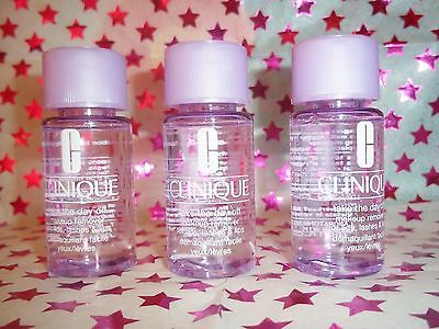 Clinique Take the Day Off Makeup Remover 3 X 30ml