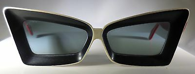 Women's Vintage Space Age/Atomic Sunglasses-50's/60's-Unknown Brand-Plastic