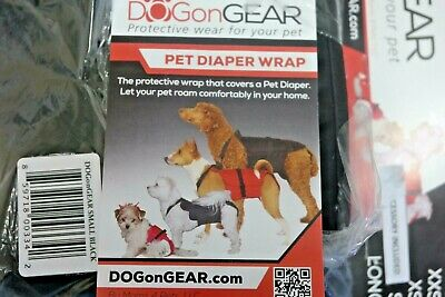 Dog Diaper Wrap SMALL BLACK (k16)
