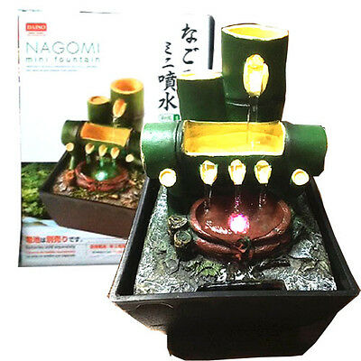 DAISO Japan NAGOMI mini fountain Model Bamboo Water sound Peace Room Interior