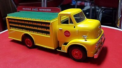 Coca Cola Truck bank die cast ertl