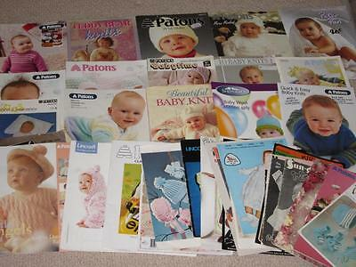 40 + Knitting Knit Books Patterns Baby Babies Patons Sidar Paragon Panda 5Kg