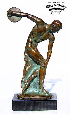 Bronze Art Deco sculpture Discus-thrower FAGUAYS & Max LE VERRIER Original