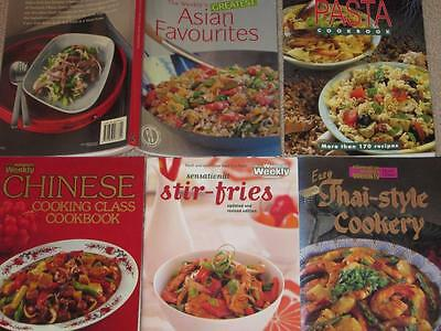 5 Womens Weekly Cookbooks Greatest Asian Favourites, Stir Fries , Chinese Pasta