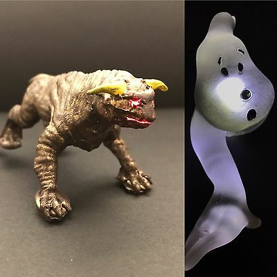 Ghostbusters Pinball Machine BROWN TERROR DOG mod + GLOWING WHITE GHOST