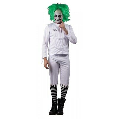 Evil Cown Costume Adult Scary Psycho Halloween Fancy Dress