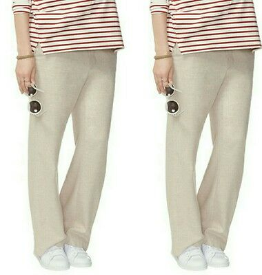 HATCH Collection Flannel Trouser Maternity Pants P XS