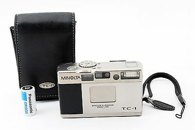 [Excellent] Minolta TC-1 28mm F/3.5 Point & Shoot from Japan #194540