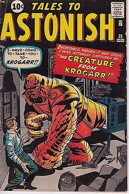 Tales to Astonish #25 1961 VERY GOOD 10 Cent Copy