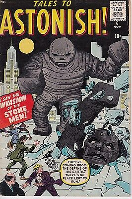 Tales to Astonish #6 Very Good Plus 10 Cent Copy, Nice Book!