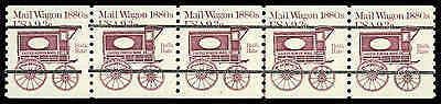 US #1903a Pl. 8  9.3¢ Mail Wagon PS5 PNC5, Superb NH MNH